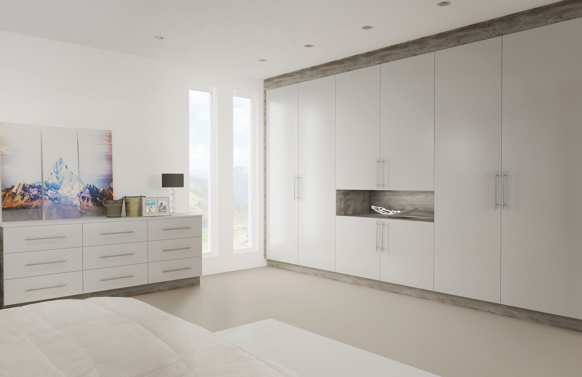 TKC Lastra Bedroom - Light Grey