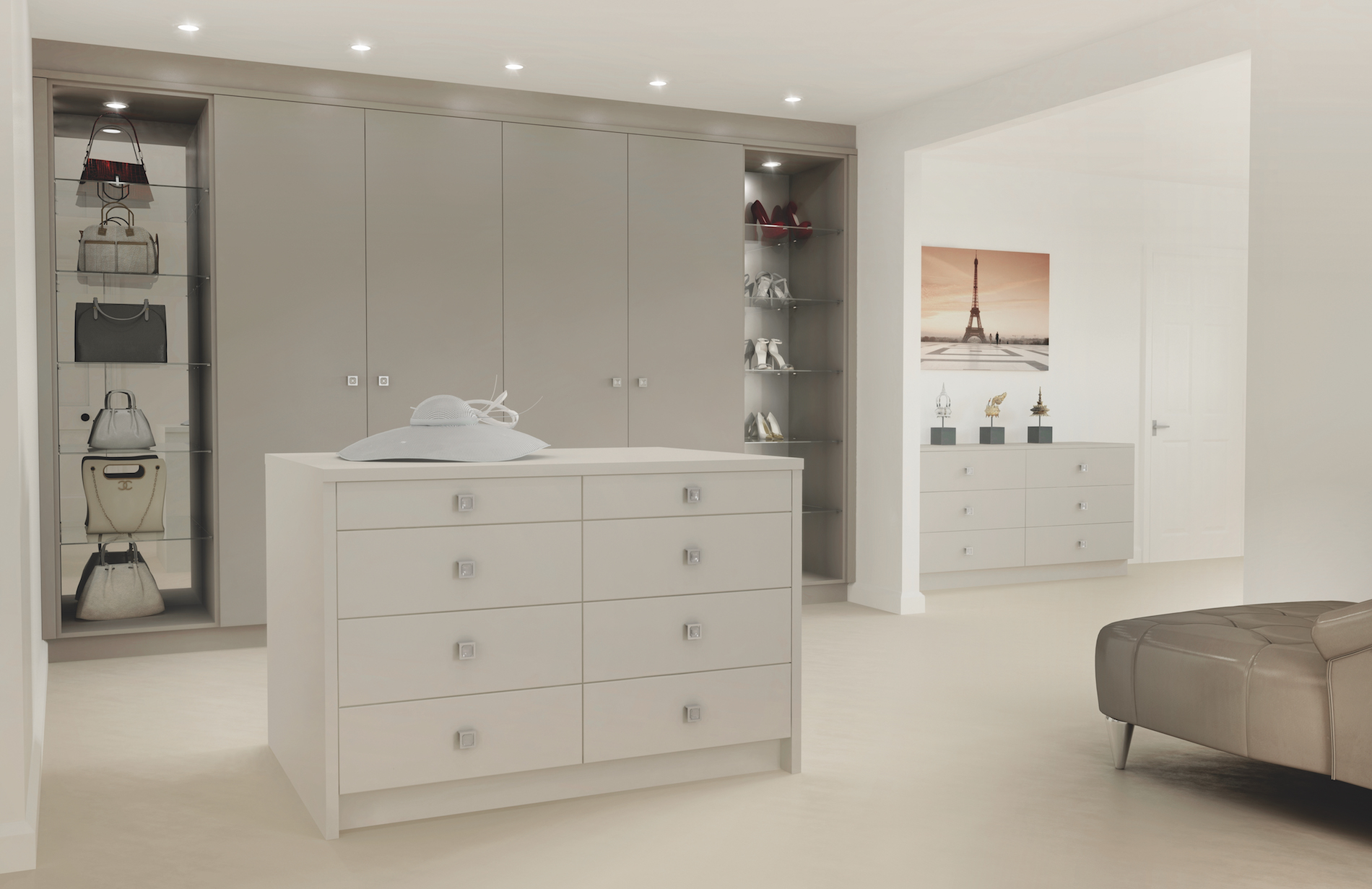 TKC Lastra Bedroom - Stone Grey