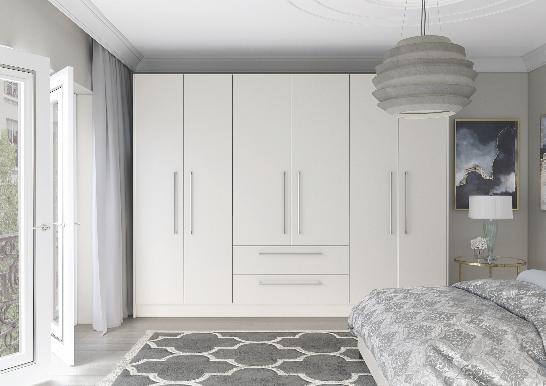 TKC Lastra Bedroom - White
