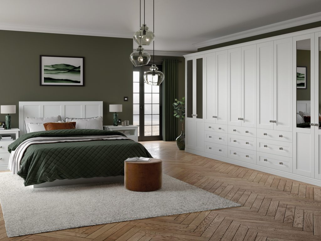 OS Loxley 5 Piece Bedroom - White