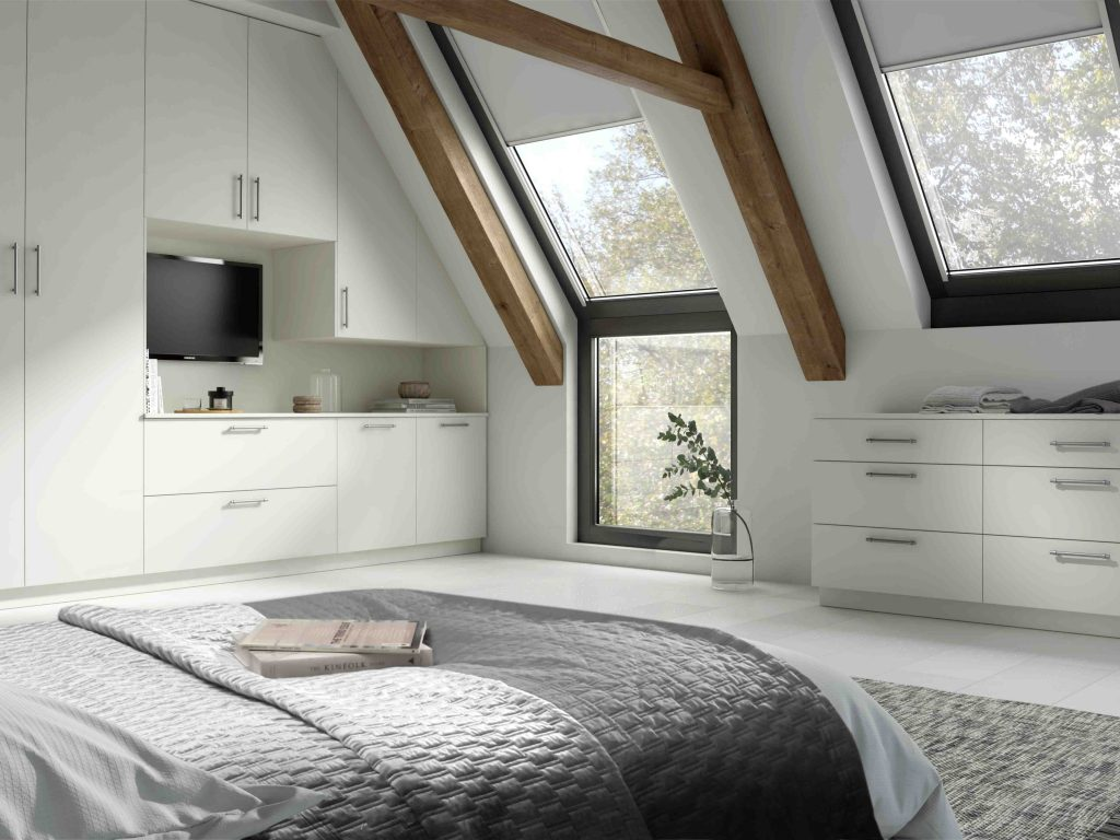OS Belair Bedroom - White