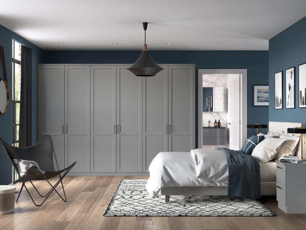 OS Loxley 5 Piece Bedroom - Dust Grey