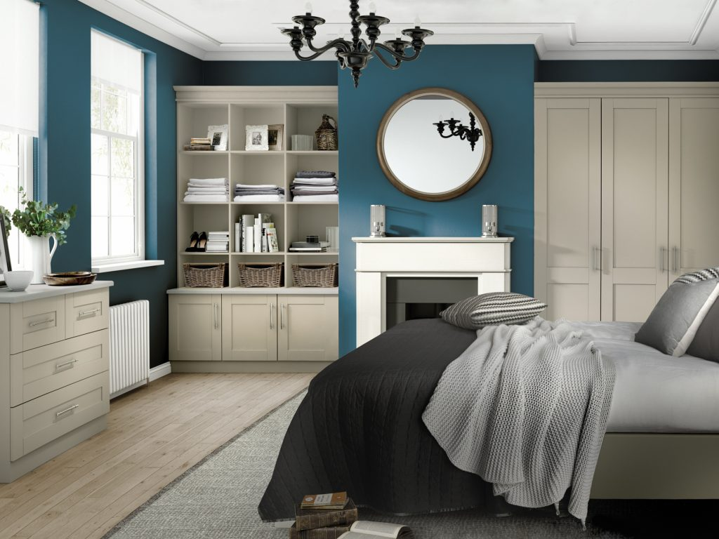 OS Loxley 5 Piece Bedroom - Mussel