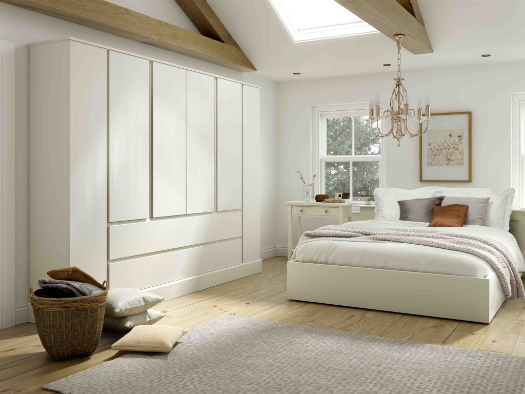 OS Harrow Bedroom - White