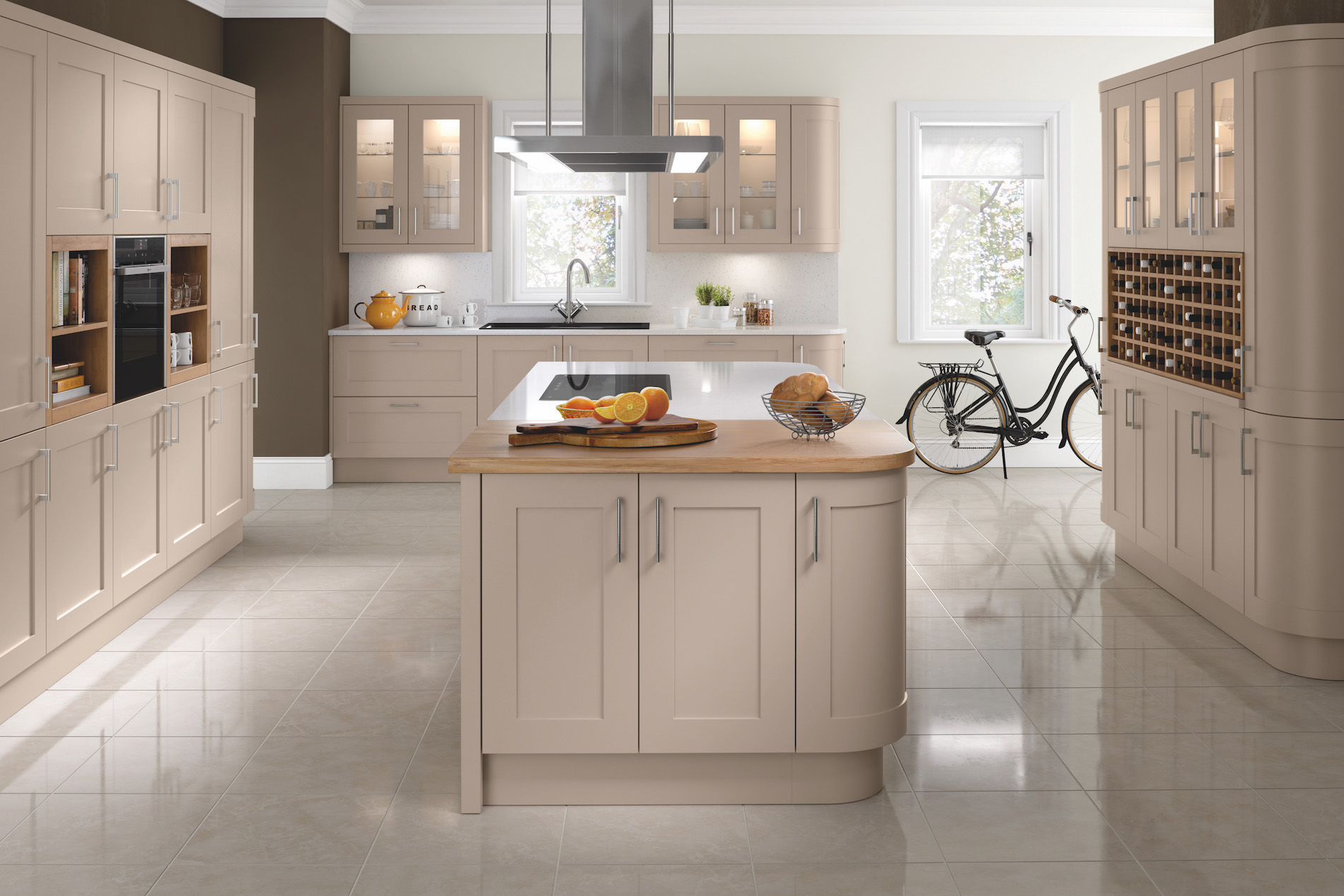 TKC Oxford Painted Shaker - Stone