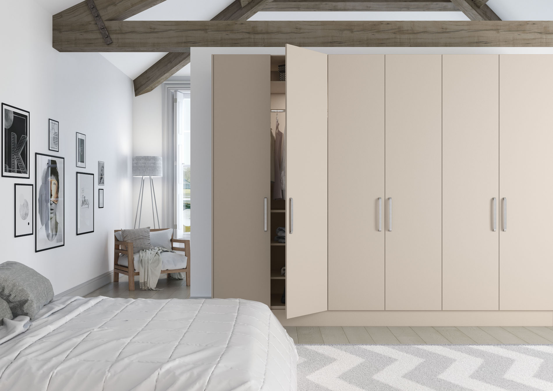 TKC Vivo Matt Bedroom - Cashmere