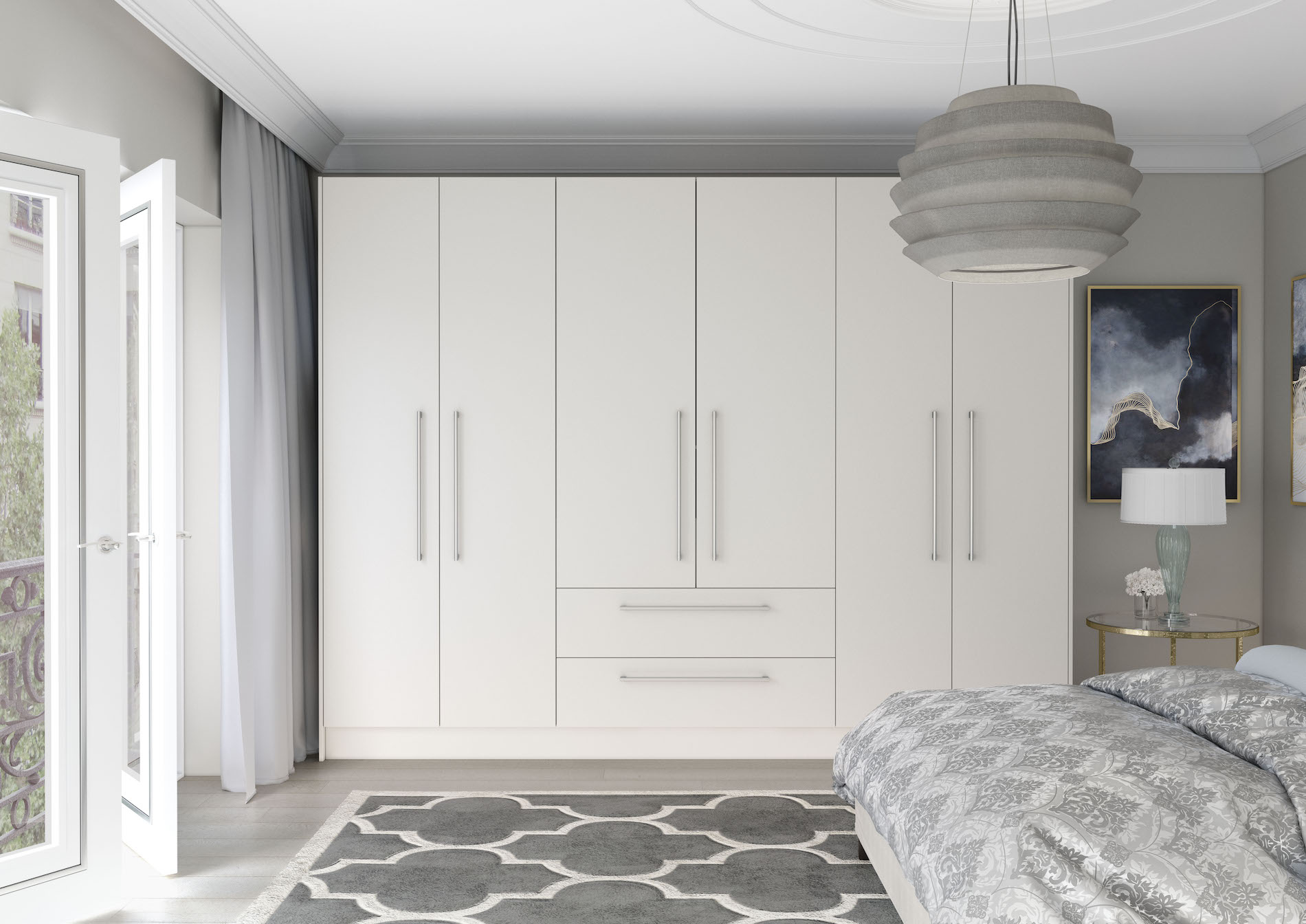 TKC Vivo Matt Bedroom - White