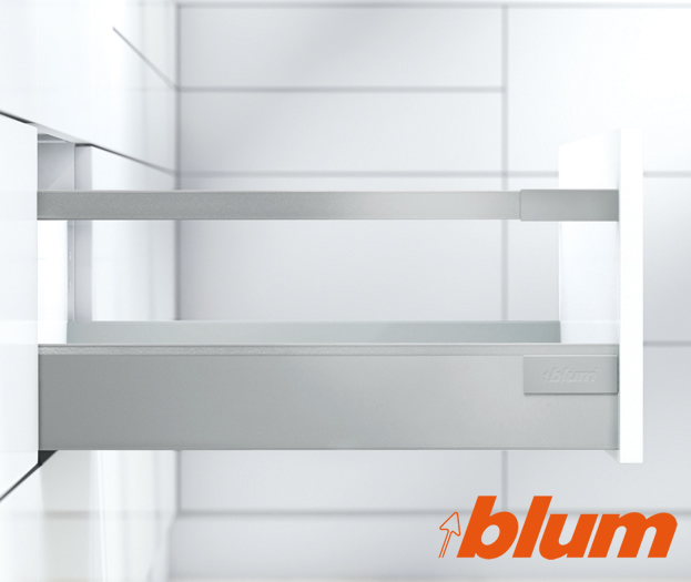 Blum Antaro Drawer Boxes as Standard