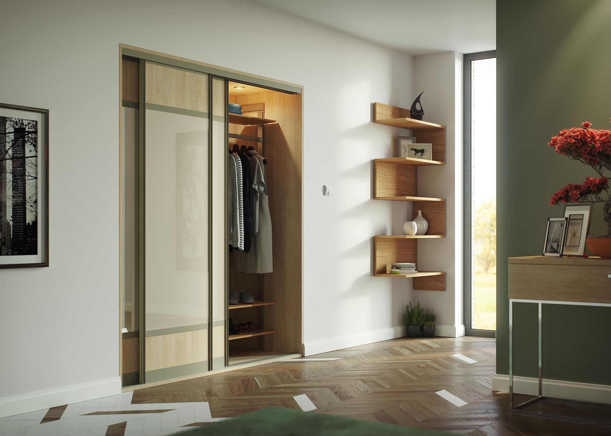 Sliding Wardrobe - Style 32